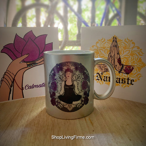 Chola Wellness Inspired Coffee Mug and Card Set - Living Firme