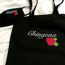 Load image into Gallery viewer, Chola inspired Chingona Mask and Bag Special - Living Firme