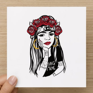 Living Firme Original Art Inspired Greeting Cards