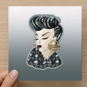 Living Firme Mi Vida Loca and Chola Inspired Greeting Cards