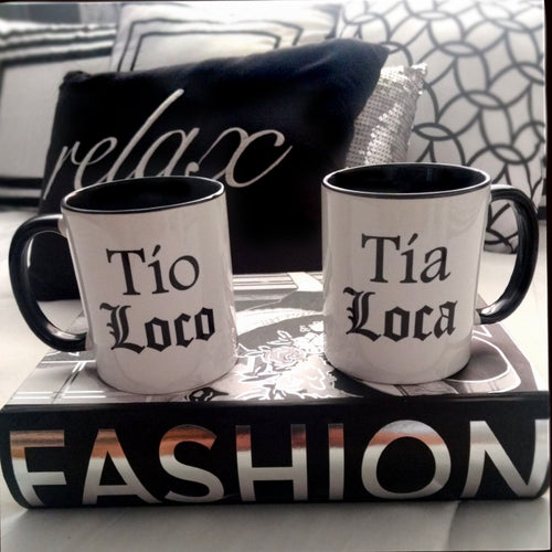 Couples sets of Living Firme Inspired by Chicano Culture Coffee Mugs