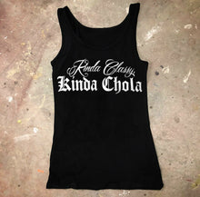 Load image into Gallery viewer, Custom Cut Chola Tank Top For Women