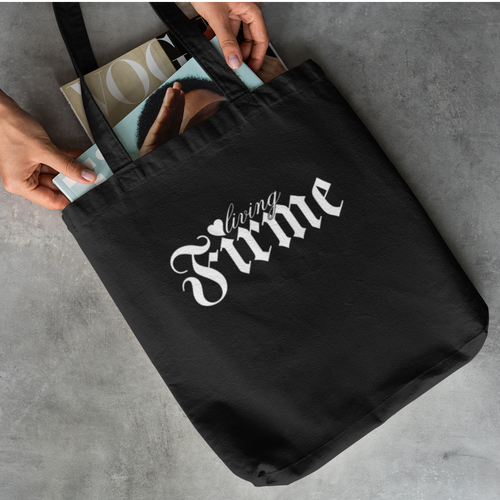 Living Firme Embroidered Tote