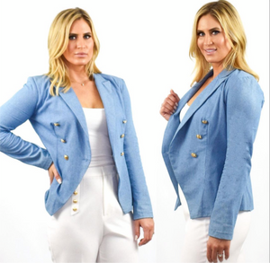 Palm Beach Denim Blazer
