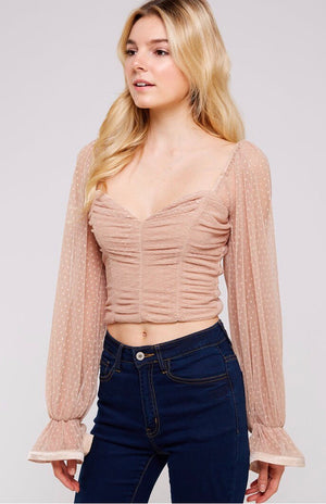 Jeanna Sweetheart Top