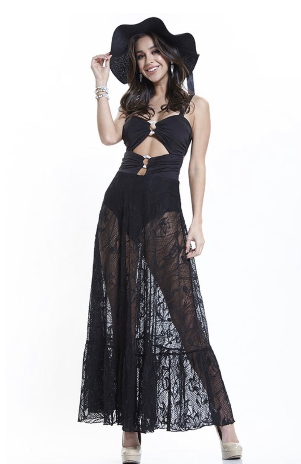 Take Me Away Coverup Maxi Dress
