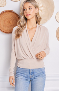 Everyday Surplice Top