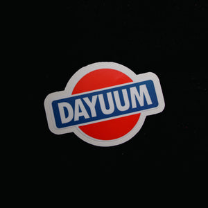 DAYUUM! Decal - 4""