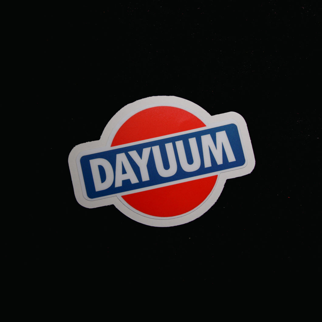 DAYUUM! Decal - 4