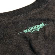 DAYUUM Script Printed Tee - Heathered