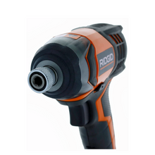 Load image into Gallery viewer, RIDGID R86034 X4 18-Volt Lithium Cordless 1/4 in. Impact Driver (Tool Only)