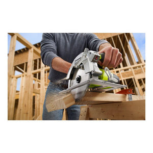 Ryobi 15 Amp Corded 7-1/4 in. Circular Saw with EXACTLINE Laser Alignment System CSB144LZK