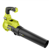 Load image into Gallery viewer, RYOBI RY40408 110 MPH 525 CFM 40-Volt Lithium-Ion Cordless Variable-Speed Battery Jet Fan Leaf Blower (Tool-Only