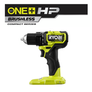 ONE+ HP 18V Brushless Cordless Compact 1/2 in. Drill/Driver RYOBI PSBDD01