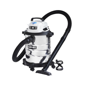 Hart 6-Gallon Stainless Steel Wet/Dry Vacuum