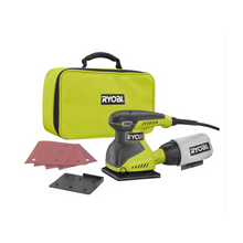 Load image into Gallery viewer, RYOBI 2 Amp Corded 1/4 Sheet Sander