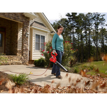 Load image into Gallery viewer, Homelite 150 MPH 233 CFM 7 Amp Electric Leaf Blower/Sweeper