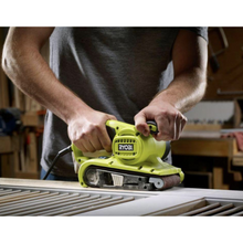 Load image into Gallery viewer, RYOBI BE319 6 Amp Corded 3 in. x 18 in. Portable Belt Sander