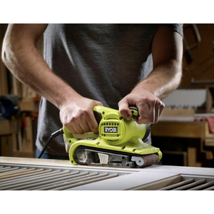 RYOBI BE319 6 Amp Corded 3 in. x 18 in. Portable Belt Sander