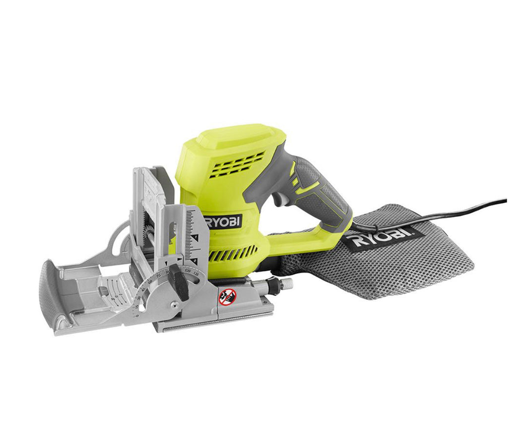RYOBI 6 Amp AC Biscuit Joiner Kit with Dust Collector and Bag JM83K