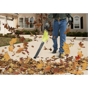 ONE+ 120 MPH 18-Volt Lithium-Ion Cordless Battery Hard Surface Leaf Blower/Sweeper