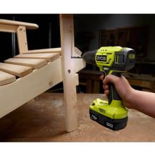 Load image into Gallery viewer, Ryobi P215K1 18-Volt ONE+ Lithium-Ion Cordless 1/2 in. Drill/Driver Kit with (2) 1.5 Ah Batteries and Charger
