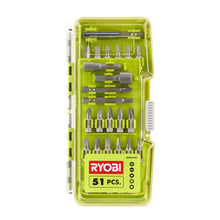 Load image into Gallery viewer, RYOBI A965101 Driver Bit Set (51-Piece)