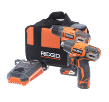Load image into Gallery viewer, Ridgid 12-Volt Drill/Driver & Impact Kit