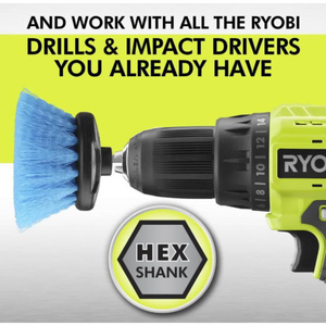 RYOBI A95MPK1 Multi-Purpose Cleaning Kit (4-Piece)