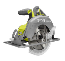 "Load image into Gallery viewer, RYOBI BRUSHLESS 18-Volt Cordless 7.25"" Circular Saw (Tool Only) P508"