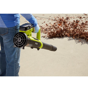 18-Volt ONE+ Lithium-Ion Cordless 90 MPH 200 CFM Leaf Blower/Sweeper(Tool Only)