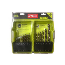 Load image into Gallery viewer, RYOBI Bronze Oxide Drill Bit Set (24-Piece) A972401QP