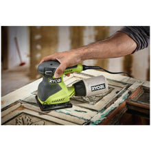 Load image into Gallery viewer, RYOBI 2 Amp Corded 1/4 Sheet Sander S652DGK