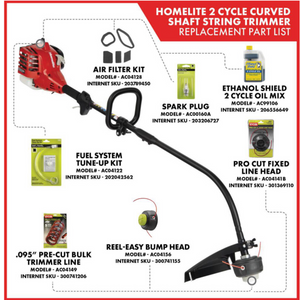 Homelite UT33600B 2-Cycle 26 CC Curved Shaft Gas Trimmer