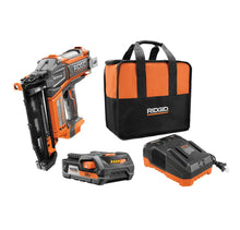 Load image into Gallery viewer, Ridgid 18-Volt Hyper Drive Nailer Kit