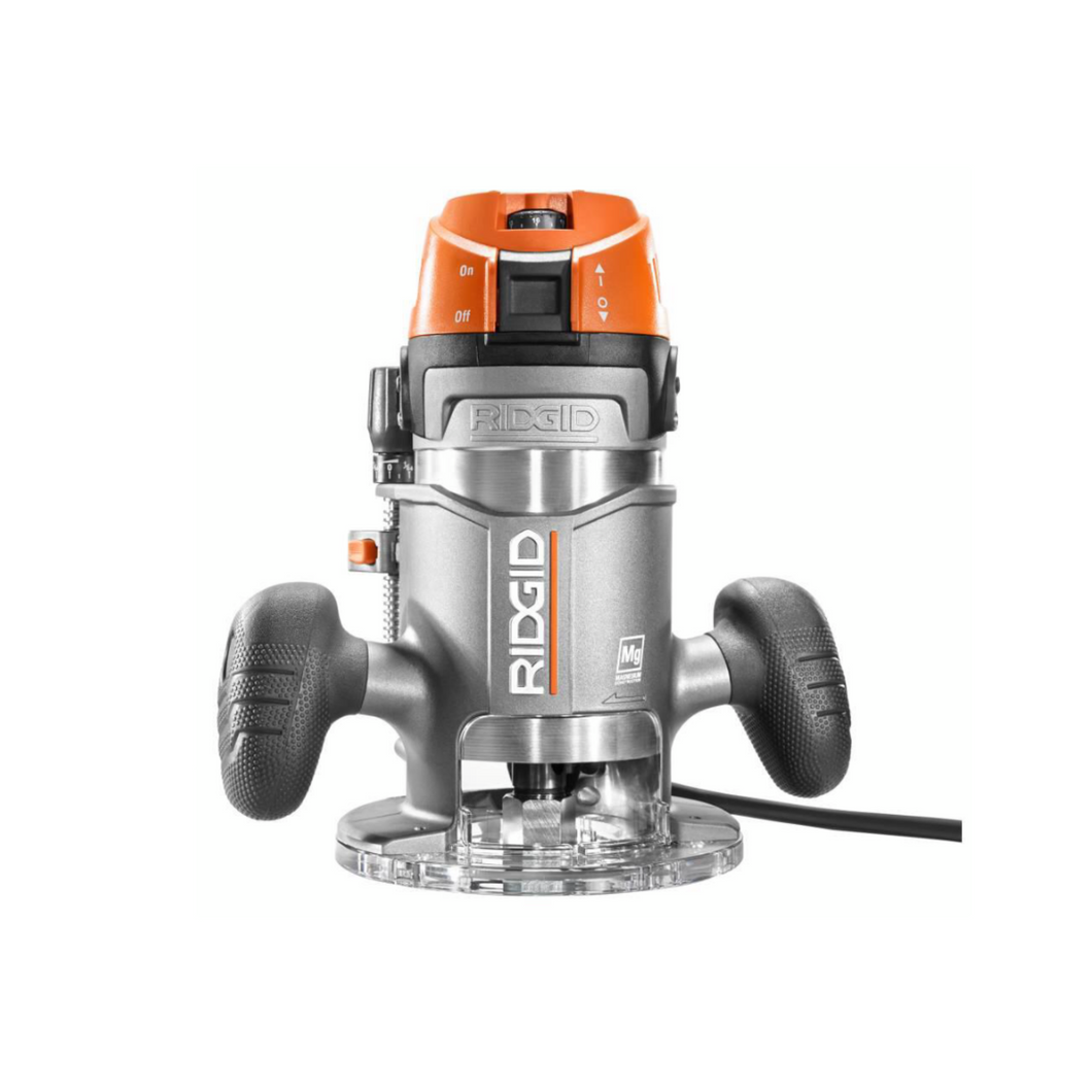 RIDGID R22002 11 Amp 2 HP 1/2 in. Corded Fixed Base Router