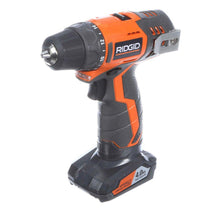 Load image into Gallery viewer, RIDGID 12-Volt Lithium-Ion Cordless Drill/Driver and Impact Driver Combo Kit with 2-Batteries, Charger and Bag