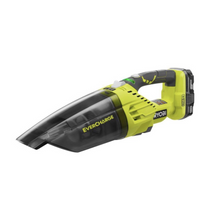 Load image into Gallery viewer, RYOBI P714K 18-Volt Cordless EverCharge Hand Vacuum with Battery and EverCharger