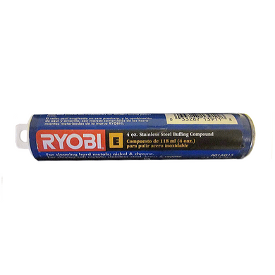 RYOBI 4 oz Stainless Steel Buffing Compound A01AG15