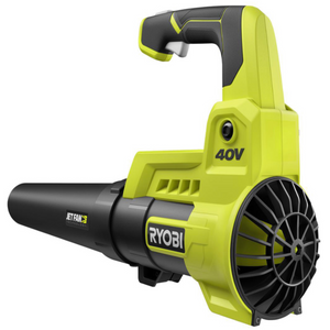 RYOBI RY40408 110 MPH 525 CFM 40-Volt Lithium-Ion Cordless Variable-Speed Battery Jet Fan Leaf Blower (Tool-Only)