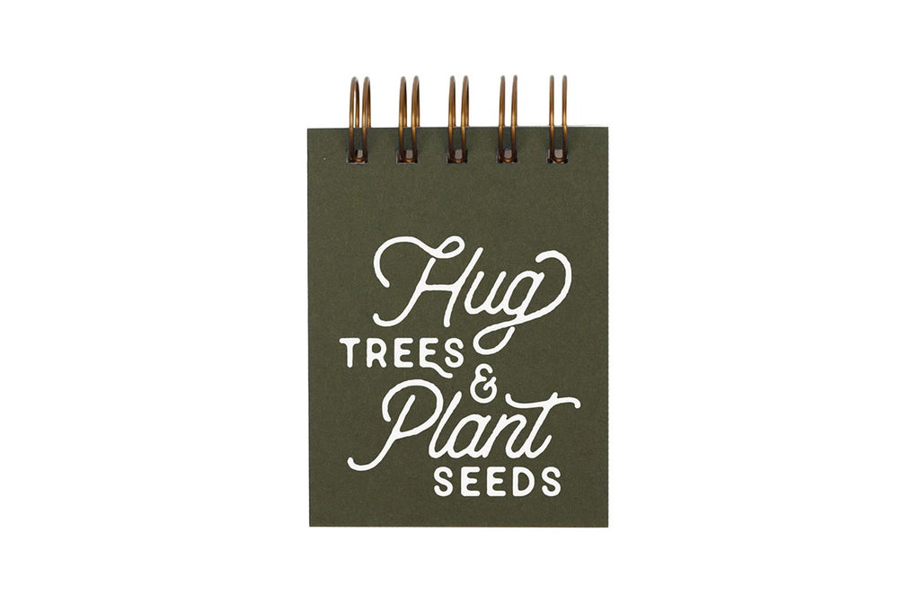 Hug Trees Mini Jotter