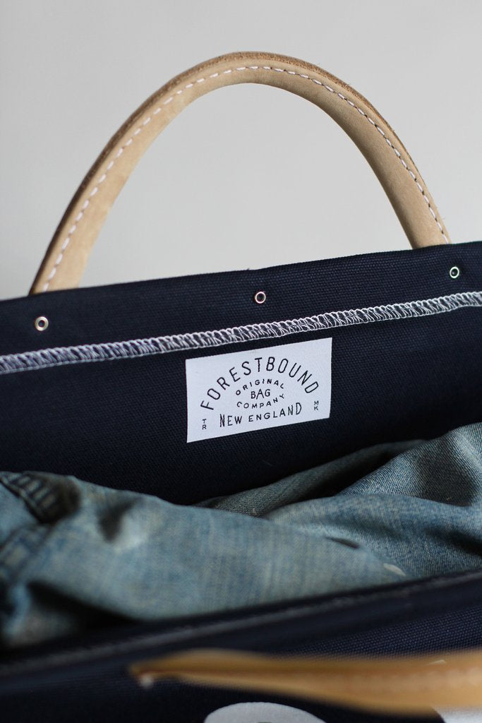 ESCAPE Canvas Utility Bag in Navy