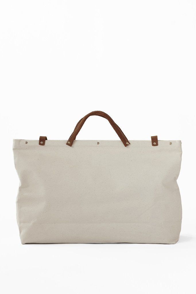 ESCAPE Canvas Utility Bag in White