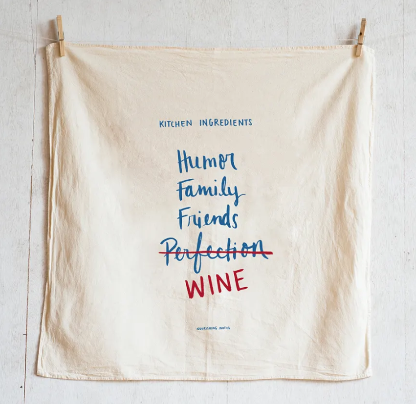 """Perfection"" Floursack Towel"