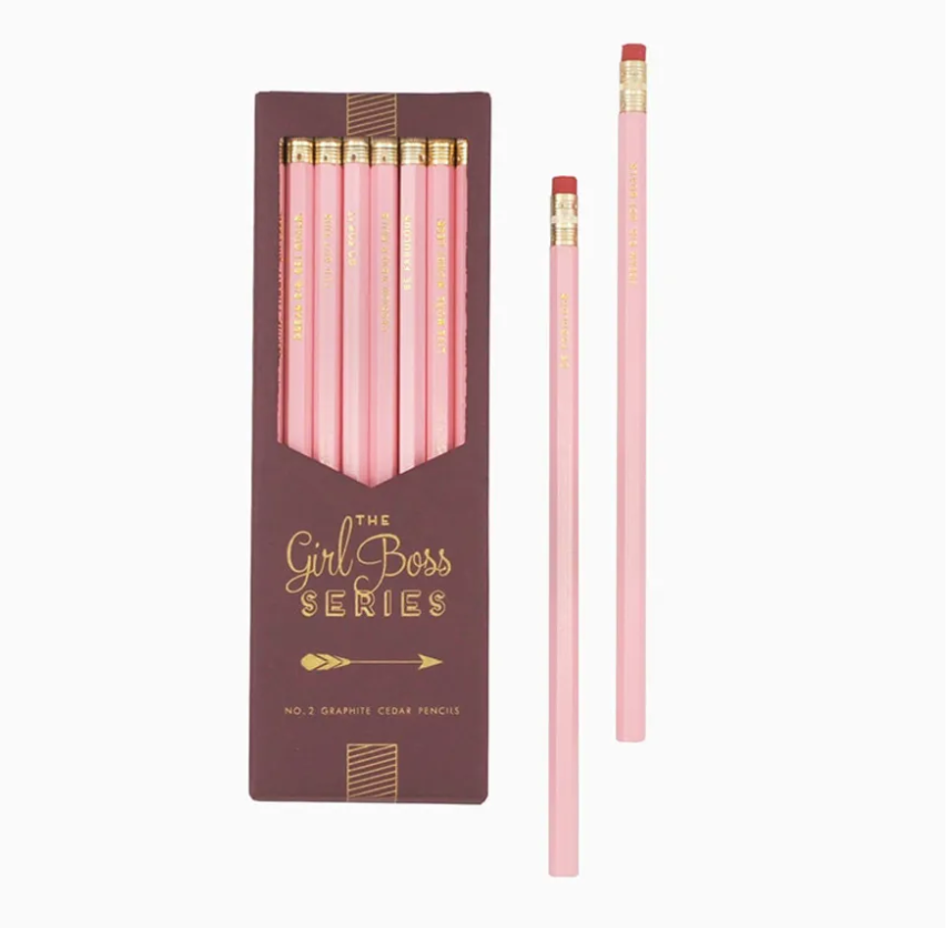 Girl Boss Series Pencil Set