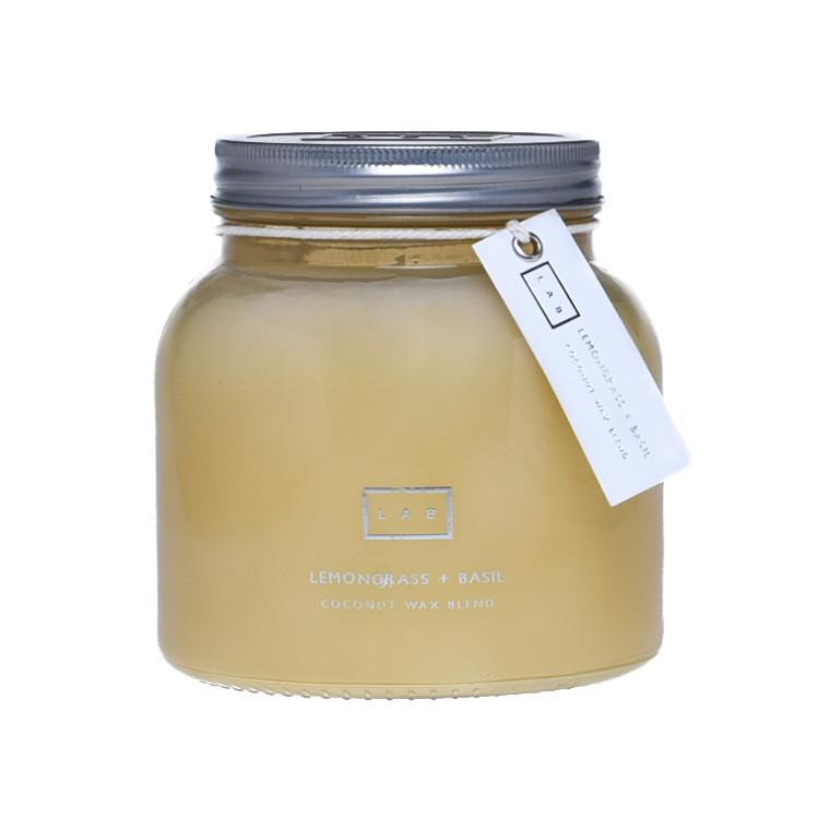 Lemongrass & Basil LAB Candle
