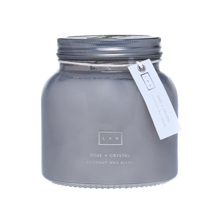 Rose & Crystal LAB Candle