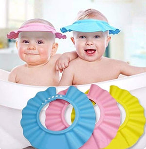 Baby Shower Adjustable Cap - Make The Bath Time Their Favorite Time