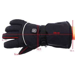Heated Gloves - 6XAA Battery - Stay Warm During Cold Days