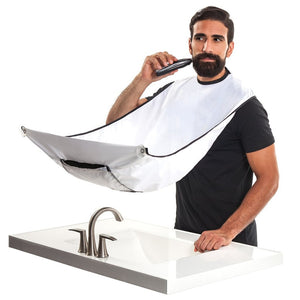 Shaving Apron - No More Shaving Hair In The Sink